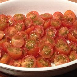 Tomatensalade met pesto